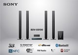 SONY-BLURAY HOME THEATER BDVE6100M