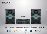 SONY-MINI HIFI AUDIO SHAKEX10