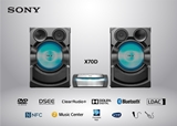 SONY-MINI HIFI AUDIO SHAKEX70