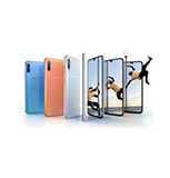 SAMSUNG - ANDROID SMART HANDPHONE SMA705FZBDXID A70 128GB BL