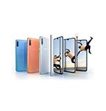 SAMSUNG - ANDROID SMART HANDPHONE SMA705FZKDXID A70 128GB BK