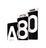 SAMSUNG - ANDROID SMART HANDPHONE SMA805FZKDXID A80 128GB BK