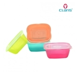 CLARIS-FOOD SAVER PLASTIC 2733-3 FASTPAC RECTANGULAR SET