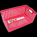 MASPION-BASKET PLASTIC STOCK BASKET WIDE BKS116