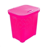 SHINPO-LAUNDRY BASKET PLASTIC PRIMROSE SIP618