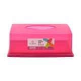 CLARIS - TISSUE BOX PLASTIC  LAVENDER 1085