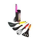 OXONE-RAINBOW KITCHEN TOOLS WITH POT OX956