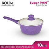 BOLDE - WOK PAN 18CM PURPLE