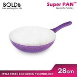 BOLDE - WOK PAN 28CM PURPLE