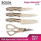BOLDE - KNIFE SUPER SET BEIGE 4PCS