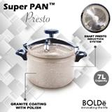 BOLDE - PRESSURE COOKER SUPER PAN PRESTO 7L