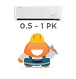 JASA PASANG AC 0.5 - 1 PK
